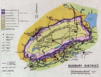 Geology of the Sudbury area